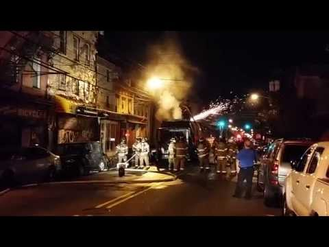 Jersey City (NJ) Working Fire.