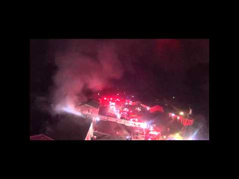 Grant Drive House Fire - Coventry, RI Drone Footage