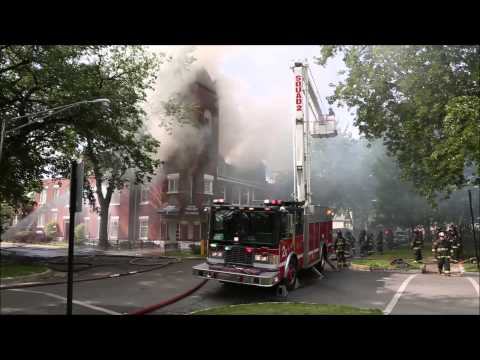 Chicago 2-11 Church Fire