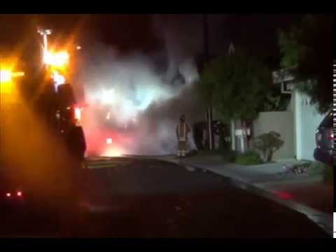 Irvine (CA) Garage Fire