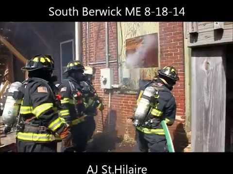 South Berwick (ME) Structure Fire