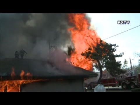 Stockton Fire Department- Commercial Structure Fire with Radio Traffic