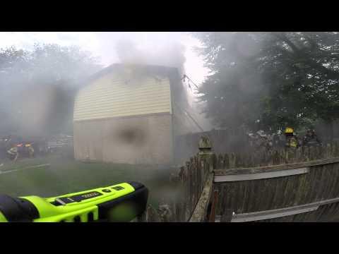 PGFD House Fire - 9200 Block of Gary Lane, Springdale