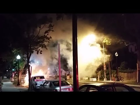 Fully Involved Car-Fire-Boston/Cambridge FD 2014