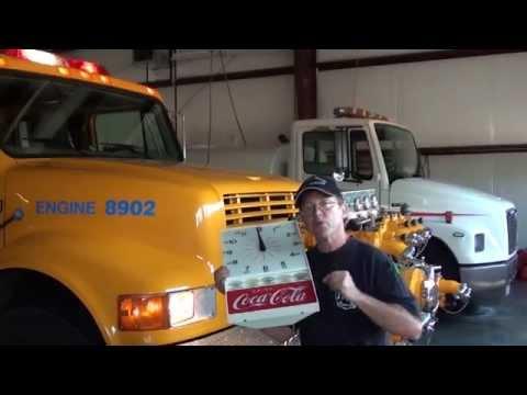 Vintage Coke Clock to Benefit the Volunteers