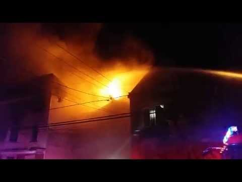NEWARK, NJ 4TH ALARM HOUSE FIRE (15th Ave ) 7/9/14