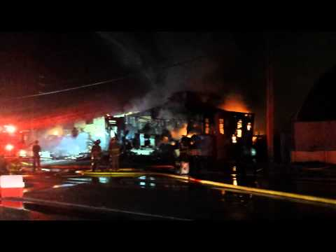 Sand Springs Appliance Fire with Wall Collapse