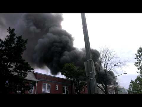 DCFD, Isherwood Street, NE Two-Alarm Fire
