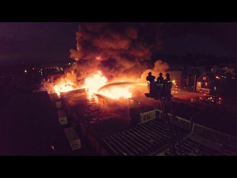 Seaview Ave. Bridgeport (CT) Multi-Alarm Fire