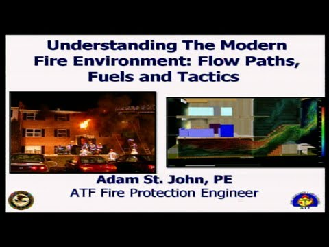 Understanding the modern fire environment: flow paths, fuel and ventilation part 1
