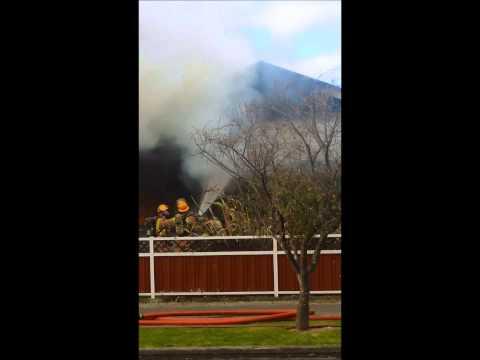 Palmerston (NZ) House Fire