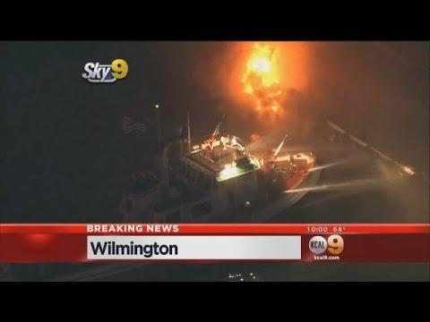 Los Angeles (CA) Port Fire