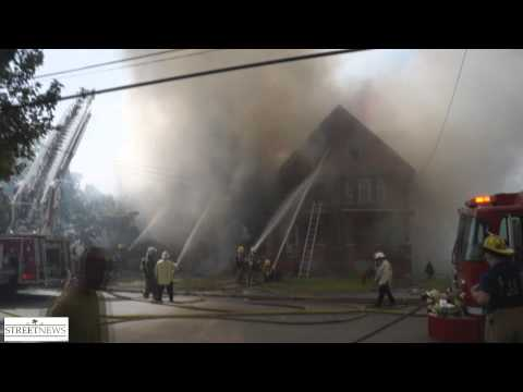 Niagara Falls (NY) House Fire Collapse