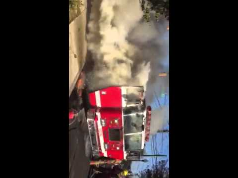 Montgomery County (MD) Apparatus Fire