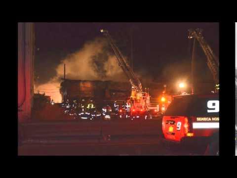 Blasdell (NY) Warehouse Fire