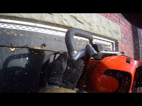 Helmet Cam: Working Building Fire
