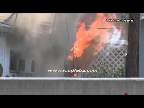Bellflower (CA) Mobile Home Fire