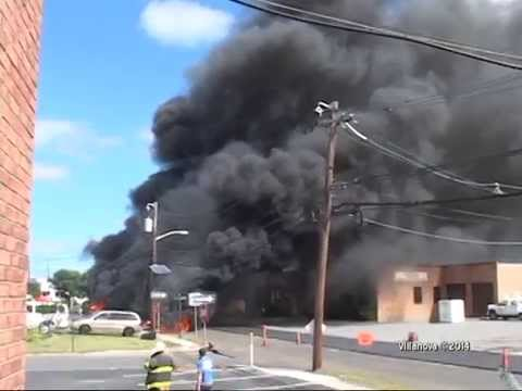 Hasbrouck Heights (NJ) Two-Alarm Fire