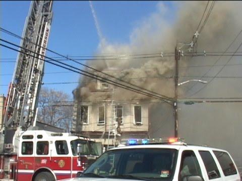 Paterson (NJ) Two-Alarm Fire