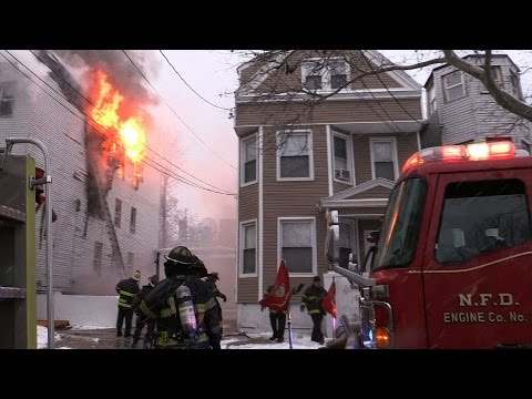 Newark (NJ) 2-Alarm Fire