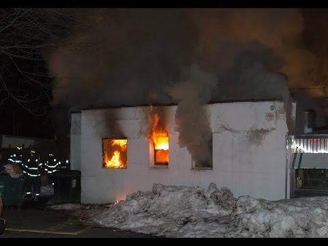 East Orange (NJ) Diner Fire