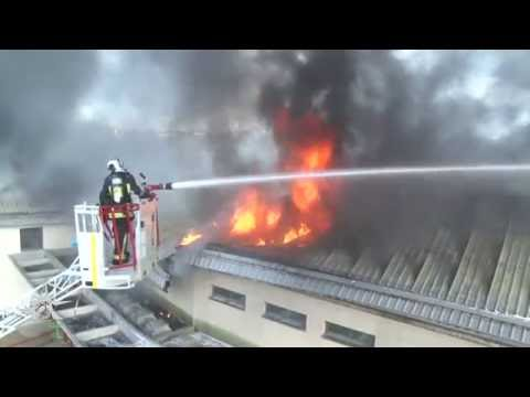 Vitry-Sur-Seine (Paris, France) School Fire