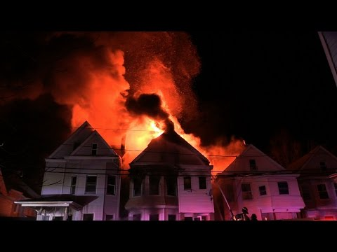 4-Alarm Paterson (NJ) Fire