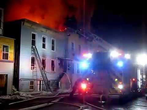 Multiple Alarm Hudson (NY) Fire