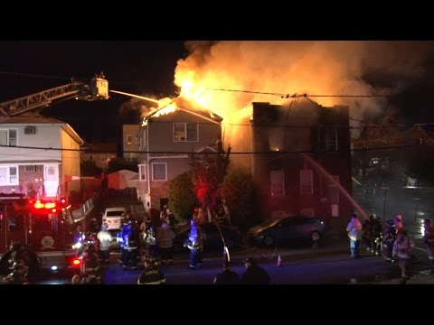3-Alarm Lodi (NJ) Fire