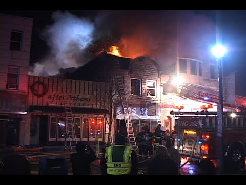 Rutherford (NJ) 3-Alarm Fire