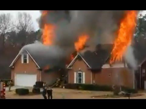 Fayetteville (GA) Fire, Explosion