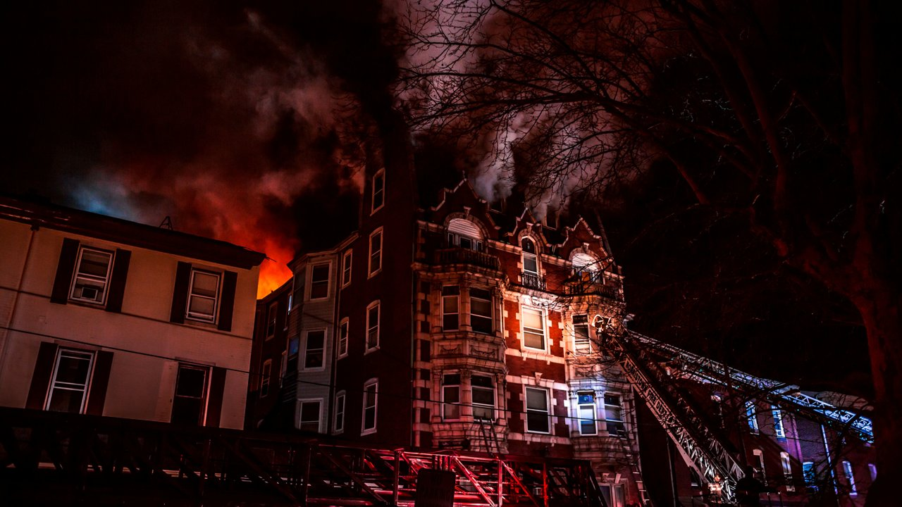 Four-Alarm Norristown (PA) Fire