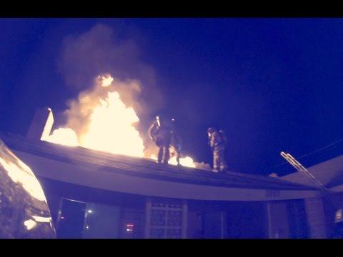 San Bernardino Structure Fire