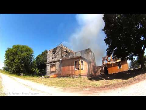 Time Lapse of Controlled Live Burn