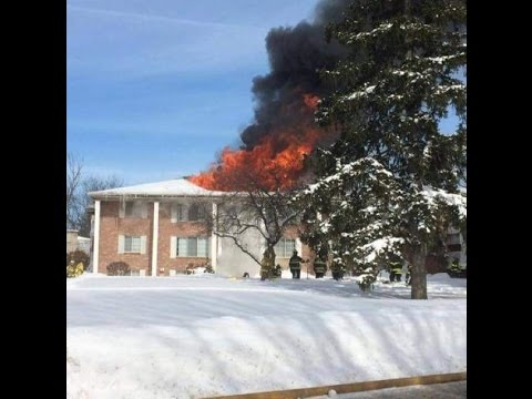 Orchard Park (NY) Structure Fire