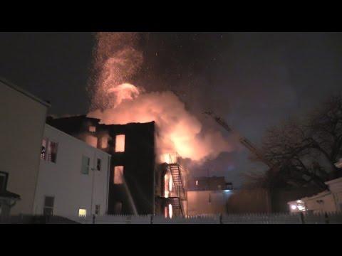 Newark (NJ) 2-Alarm Fire: N. 6th St.
