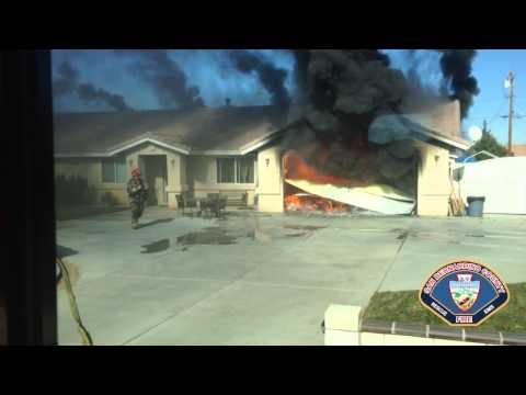 Victorville (CA) Structure Fire