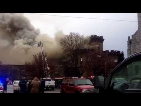 Sunbury (PA) Prison Fire
