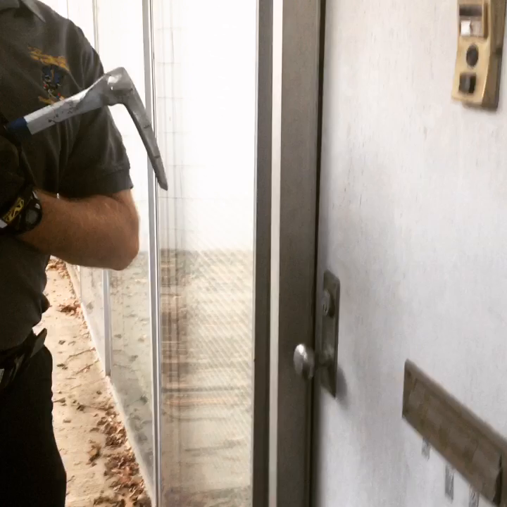 Quick Drill~ Weak Door Frame.