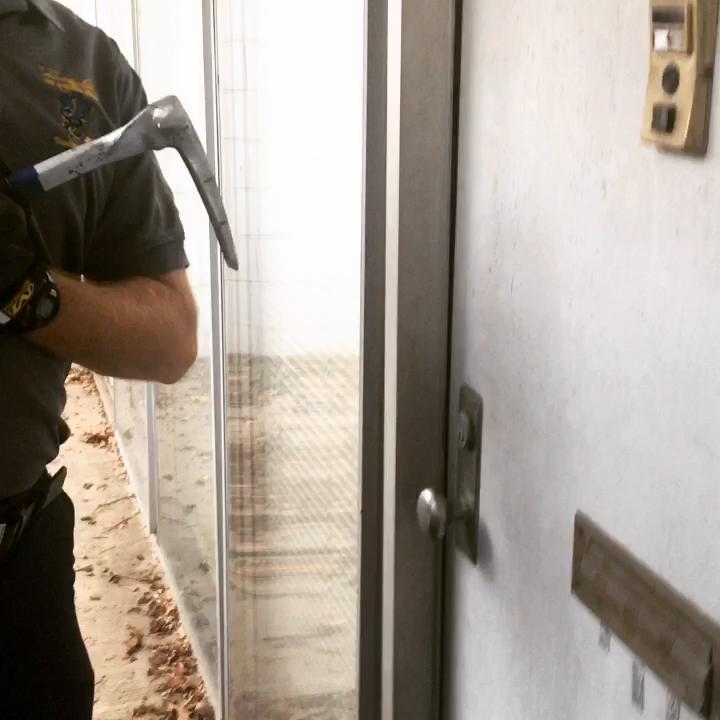 Quick Drill~ Weak Door Frame.