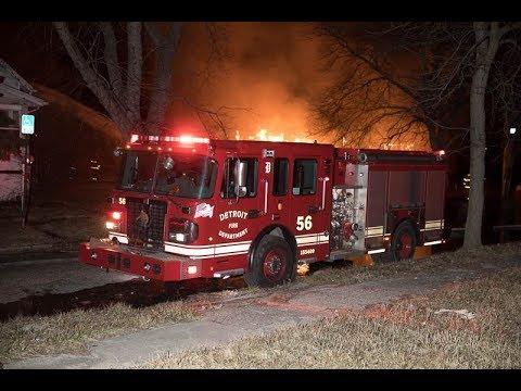 Detroit Area Fires March 2018