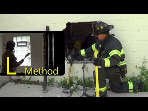 Firefighter R.I.T. Concrete Block Wall Breach