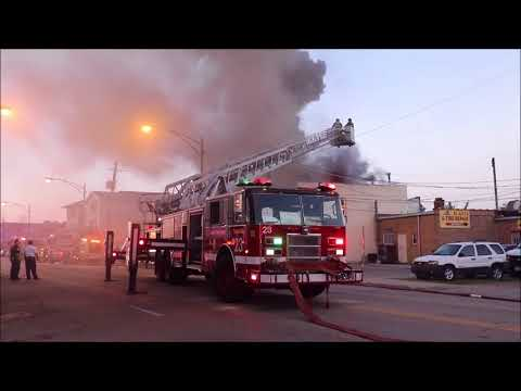 Chicago Still Alarm Body Shop Fire