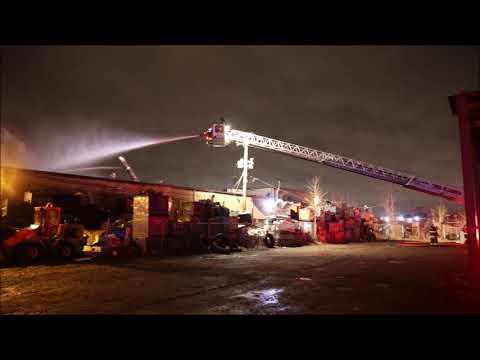 Des Plaines IL Box Alarm Industrial Fire