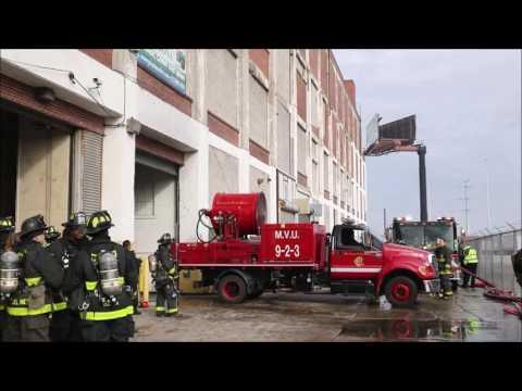 Chicago MVU at Warehouse Fire