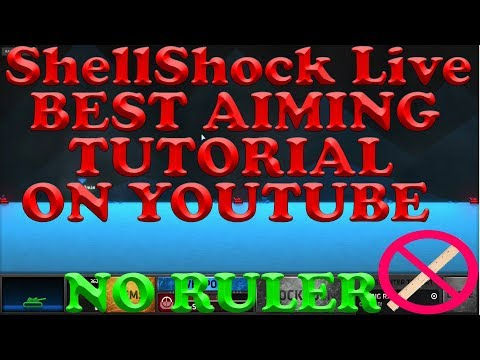 ShellShock Live 7 OF THE BEST AIMING TIPS AND TRICKS ON YOUTUBE!