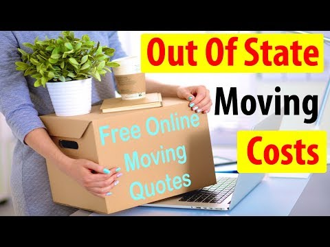 Out Of State Moving Costs | Get 7 FREE Moving Quotes & Save 35%