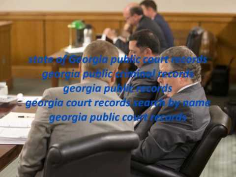 Georgia Public Criminal Records