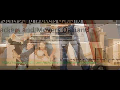 Packers and Movers in Oakland
