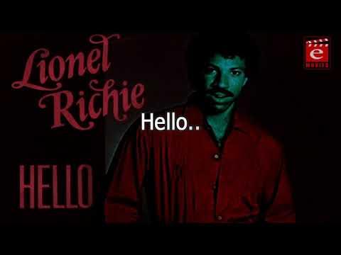 Hello Leonel Richi Video Song Lyrics   Lyrical Video Song   English Lyrical Song